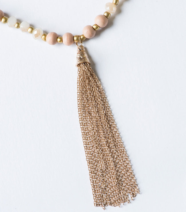 Canyon Rose Bead Necklace