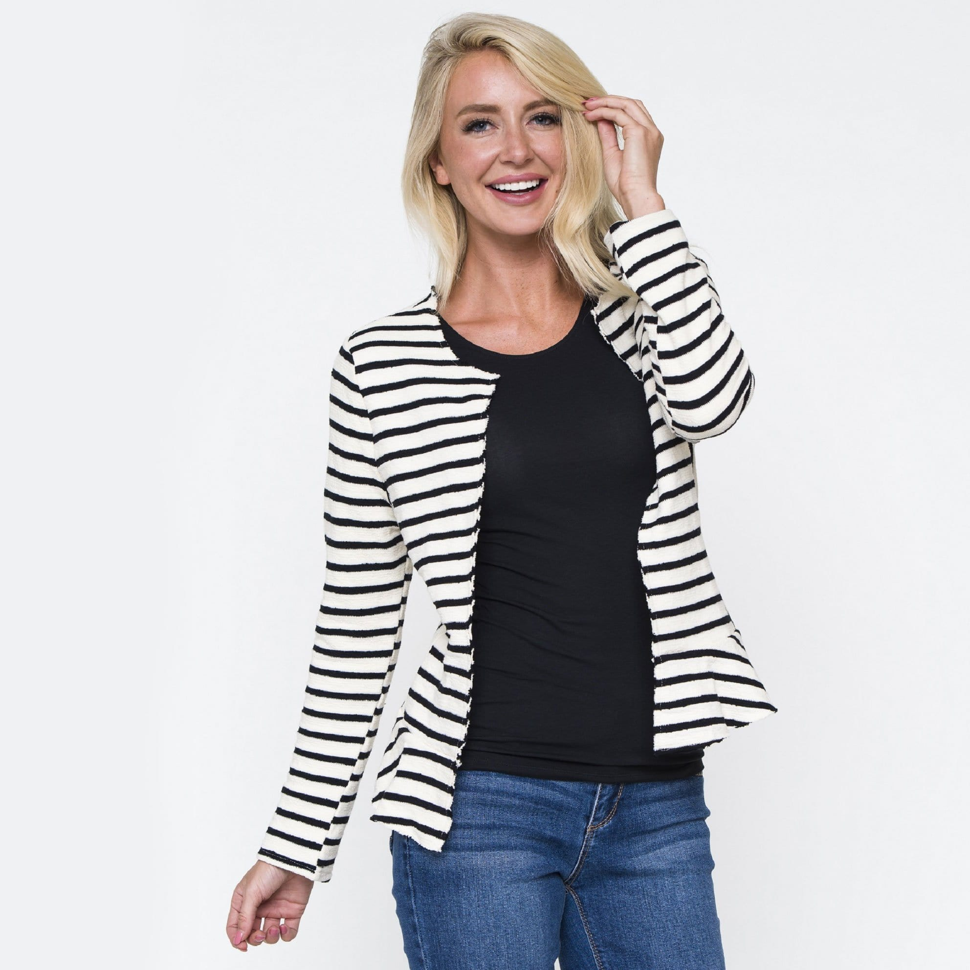 Stripe Surprise Jacket