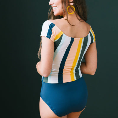 Coast to Coast Swim Top