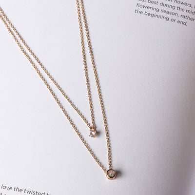 Mara Double Layer Necklace