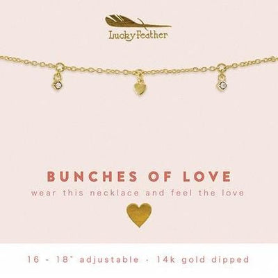 Bunches of Love Dangle Necklace