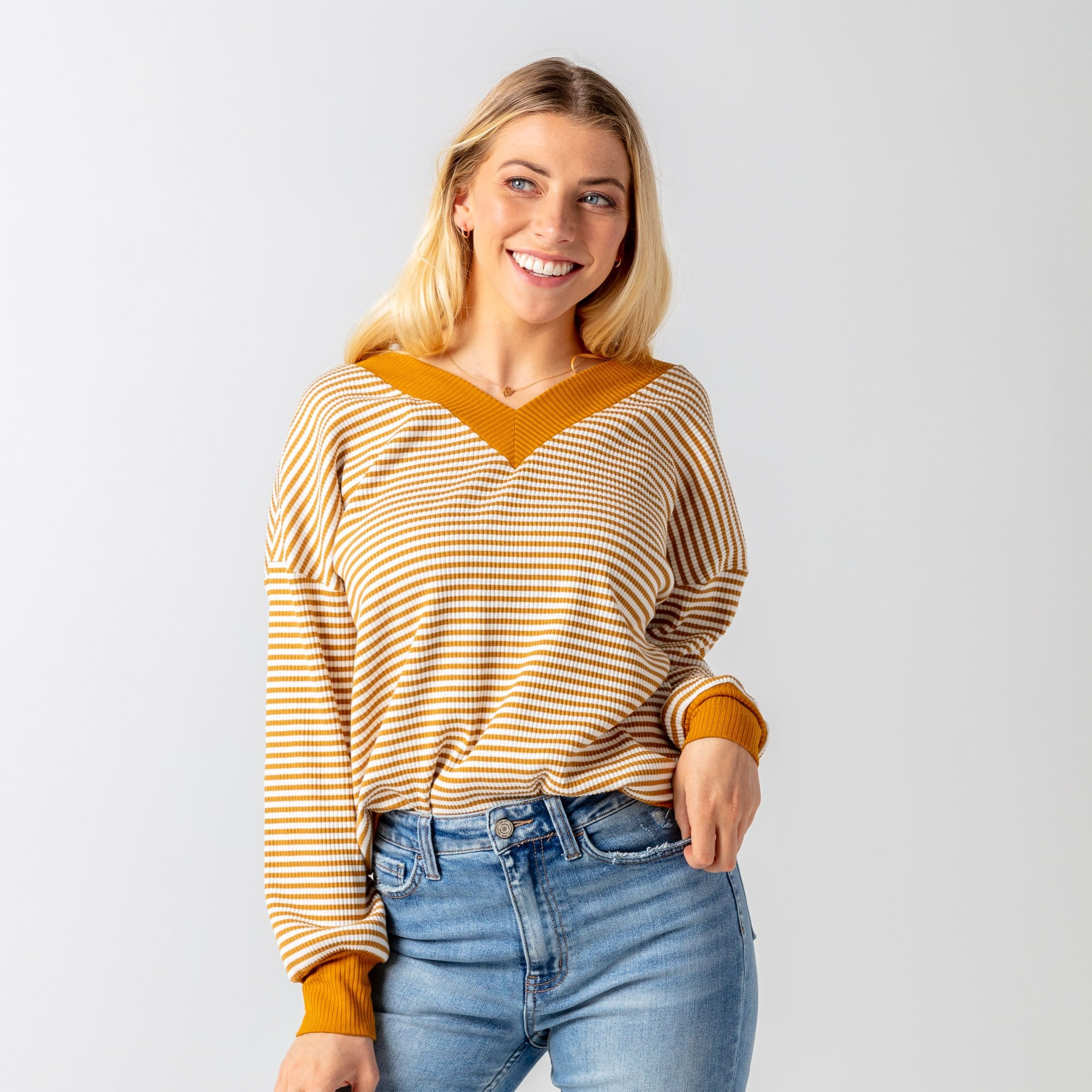 Rawlins Stripe Top