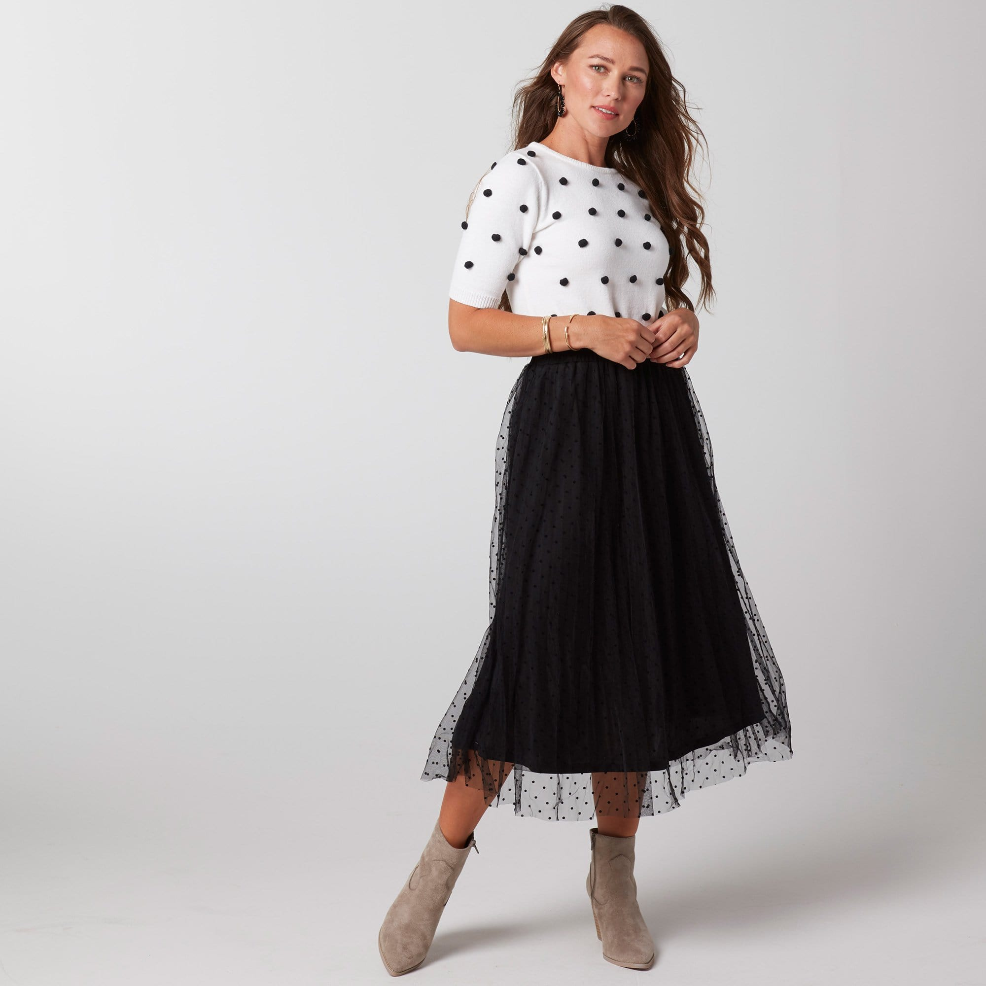 Raised Dot Skirt