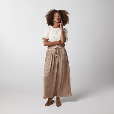 Cool and Calm Maxi Skirt