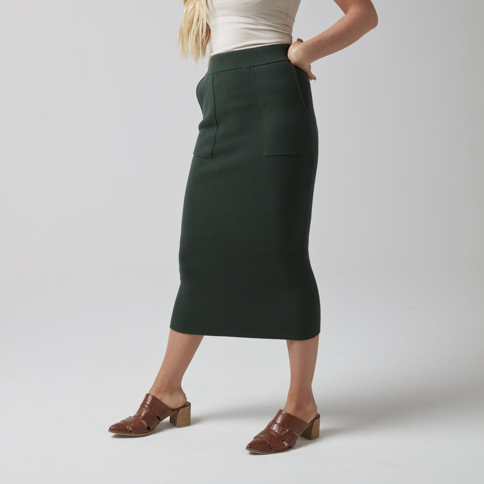 Midi Sweater Skirt