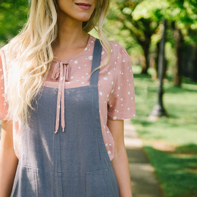 Patch Pocket Overall Jumpsuit