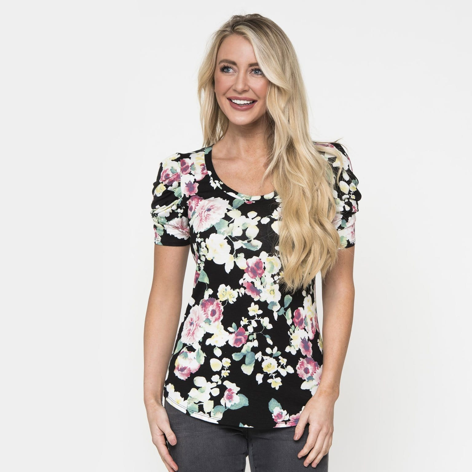 Fun with Floral Top