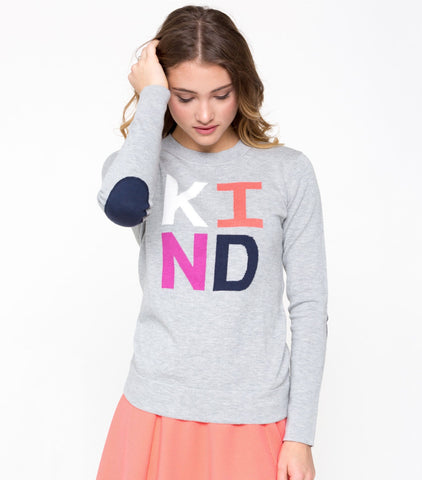 Say Something Sweater - Heather Gray