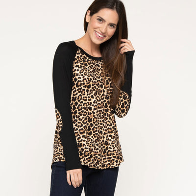 Leopard Ball Game Tee