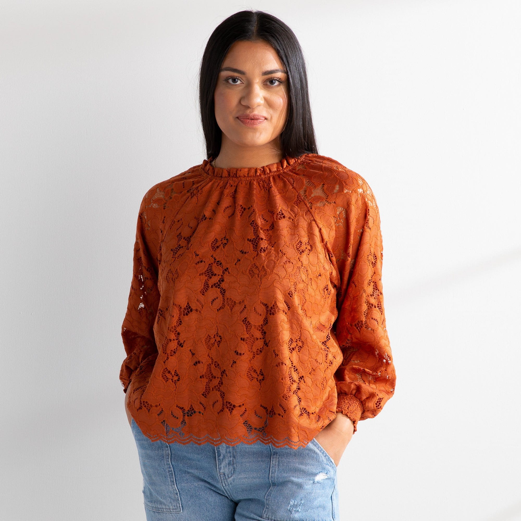 Makell Lace Blouse
