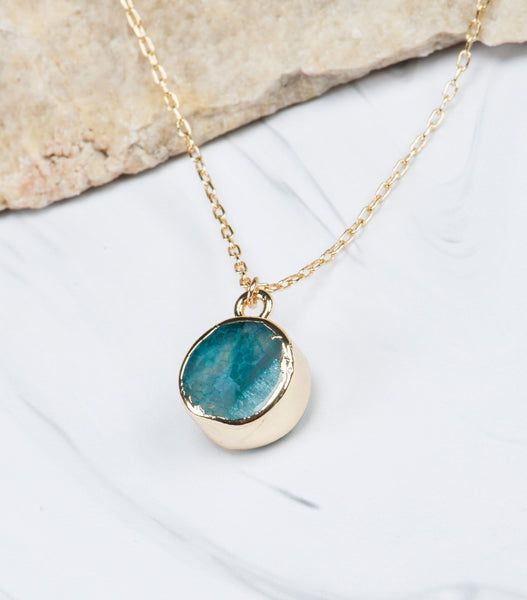 Birthstone Pendant - March
