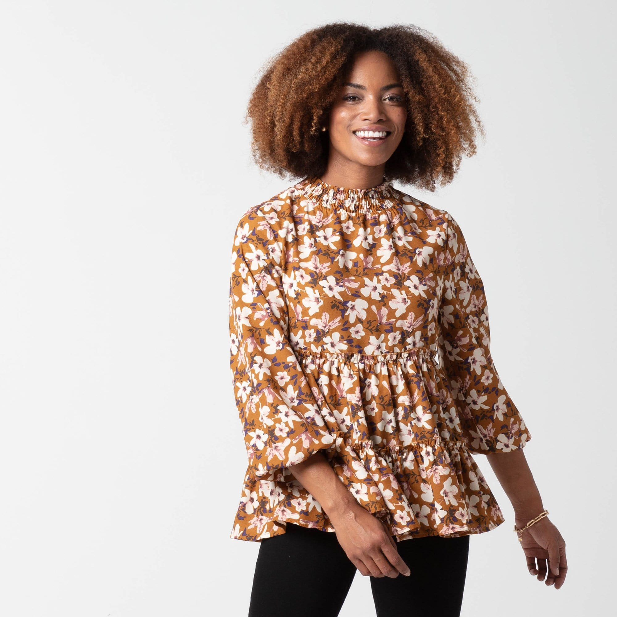 Floral Bloom Tunic
