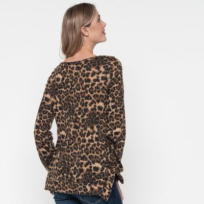 On the Loose Leopard Sweater