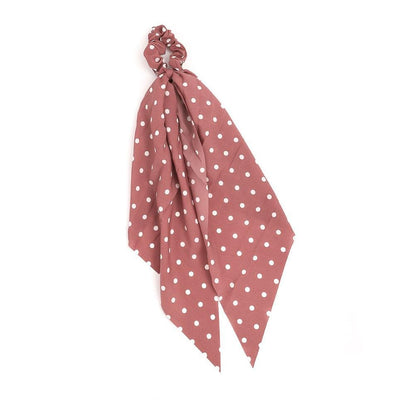 Polka Dot Hair Scarf