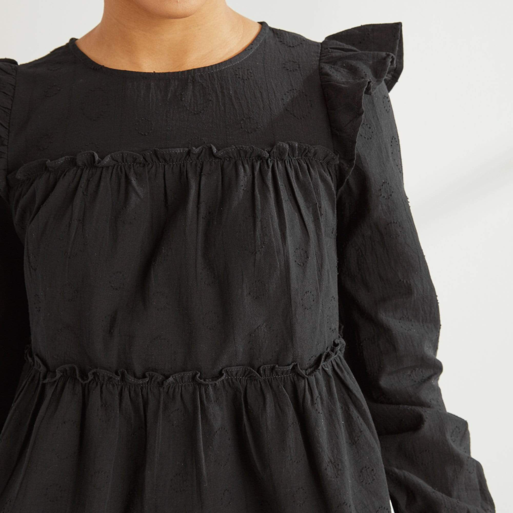 Ruffle Tiered Top