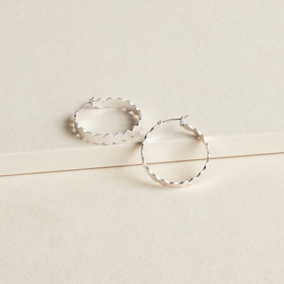 Scalloped Hoop