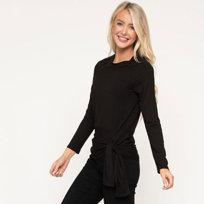 Signature Drape Waist Top