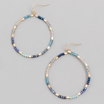 Special Delivery Bead Hoops