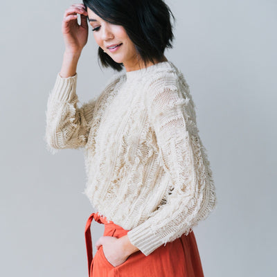 Remi Sweater in Cream