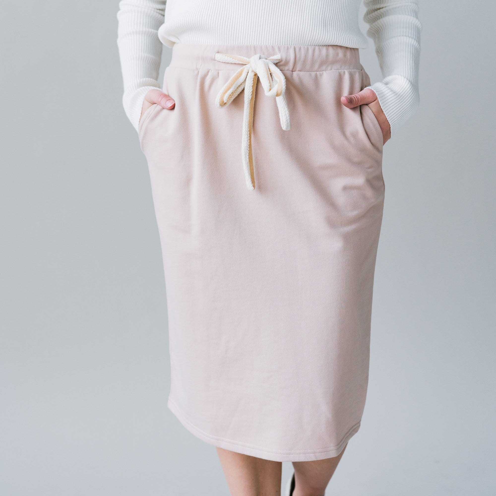 Demi Skirt in Beige