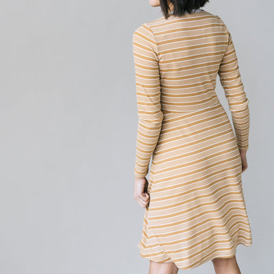 Stripe Ribbed Dress