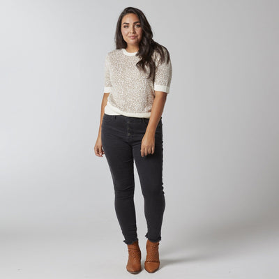 Button Fly Skinny Jean