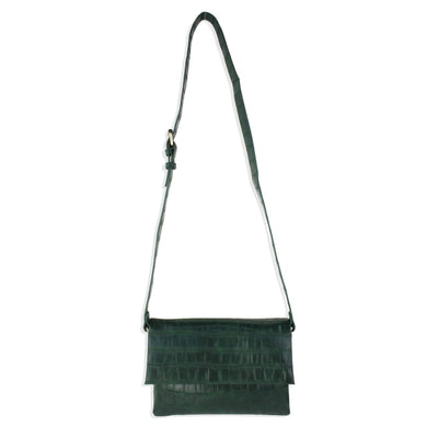 Vegan Leather Foldover Crossbody Bag by Street Level