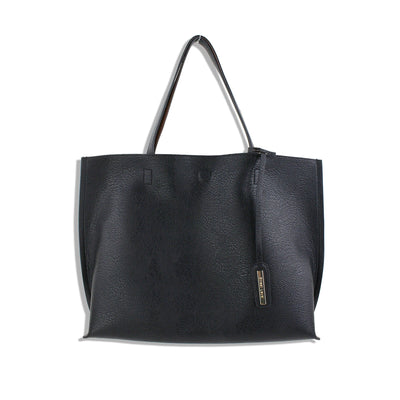 Vegan Leather Reversible Tote