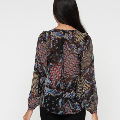 Perfect In Paisley Top