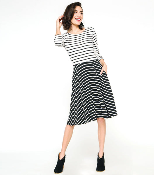 Twin Stripe Dress