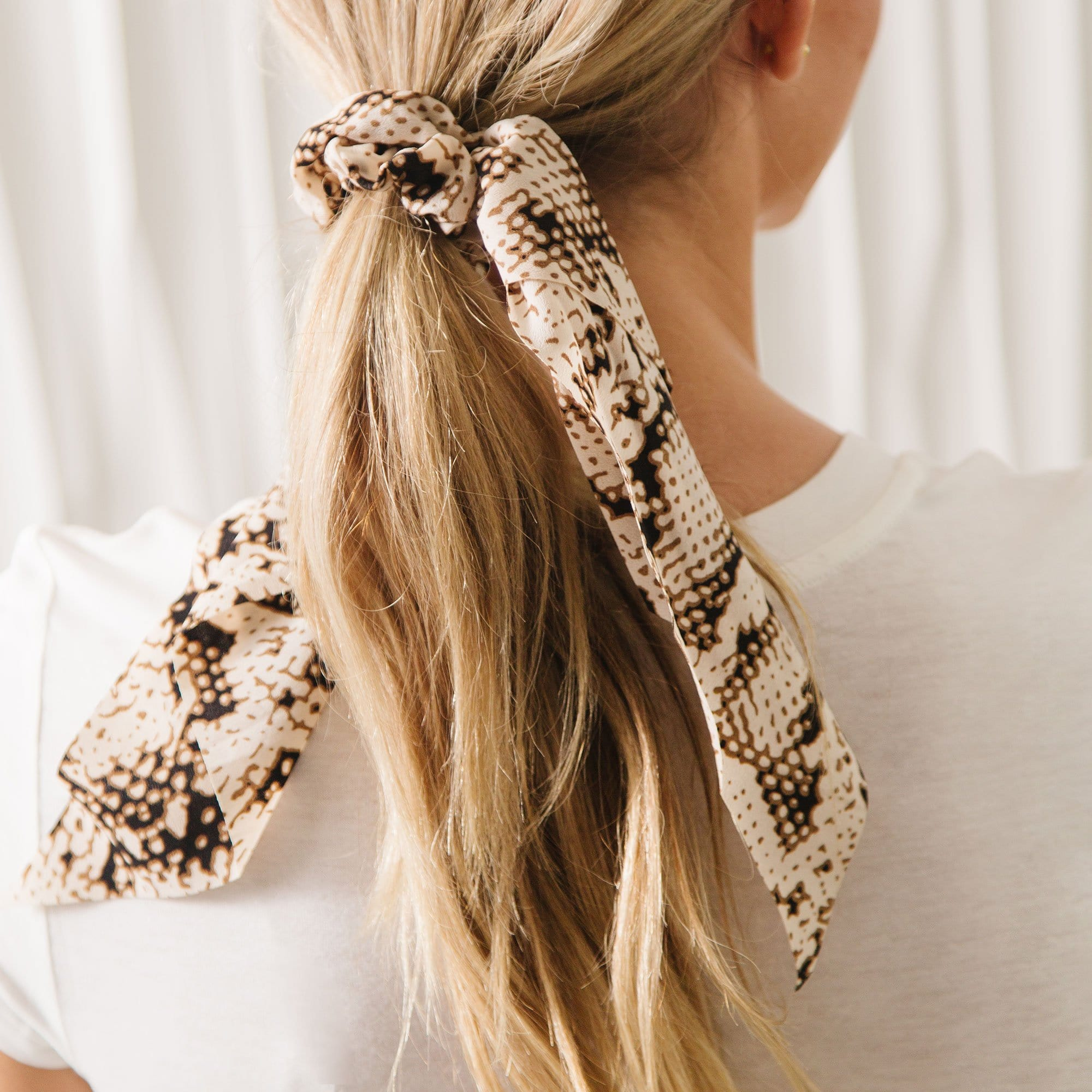 Hair Scrunchie & Scarf