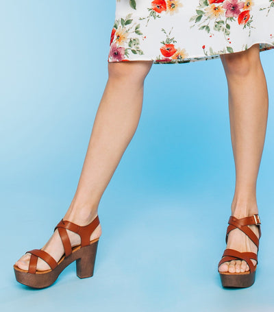 Ferry Criss Cross Sandal