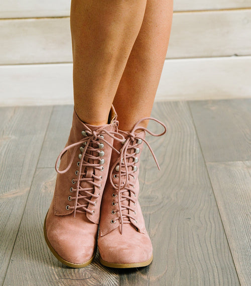 Wanda Lace Up Boot