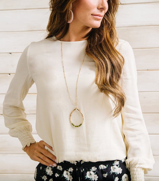 Button Trim Top