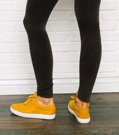 Distressed Cozy Leggings