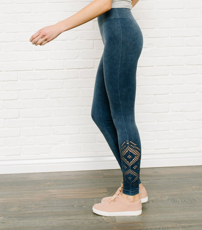 Cutout Cozy Leggings