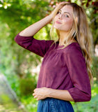 Three Quarter Sleeve Blouse