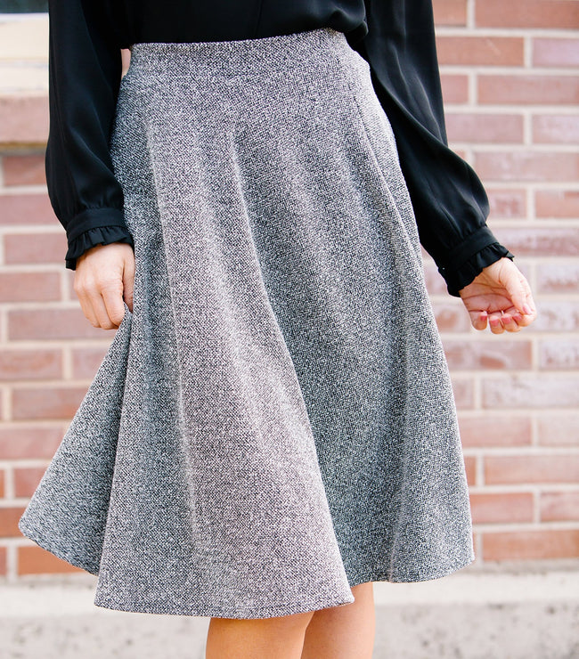 Speckle Circle Skirt