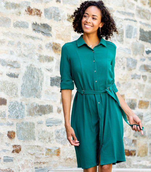 D-Ring Shirt Dress