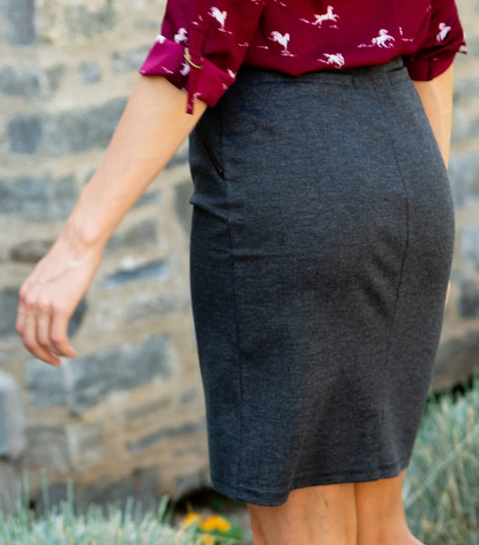 Zipper Pocket Skirt