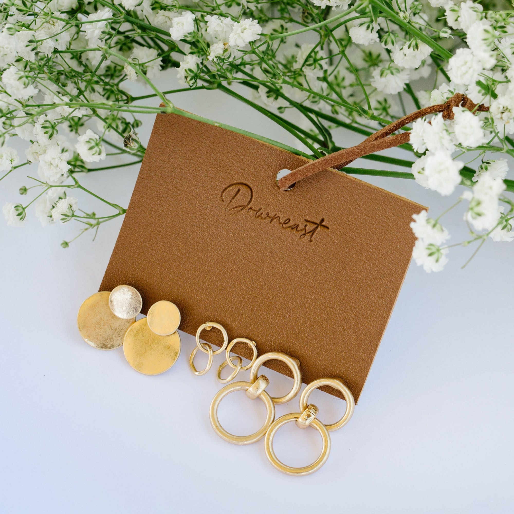 Good as Gold Earring Set