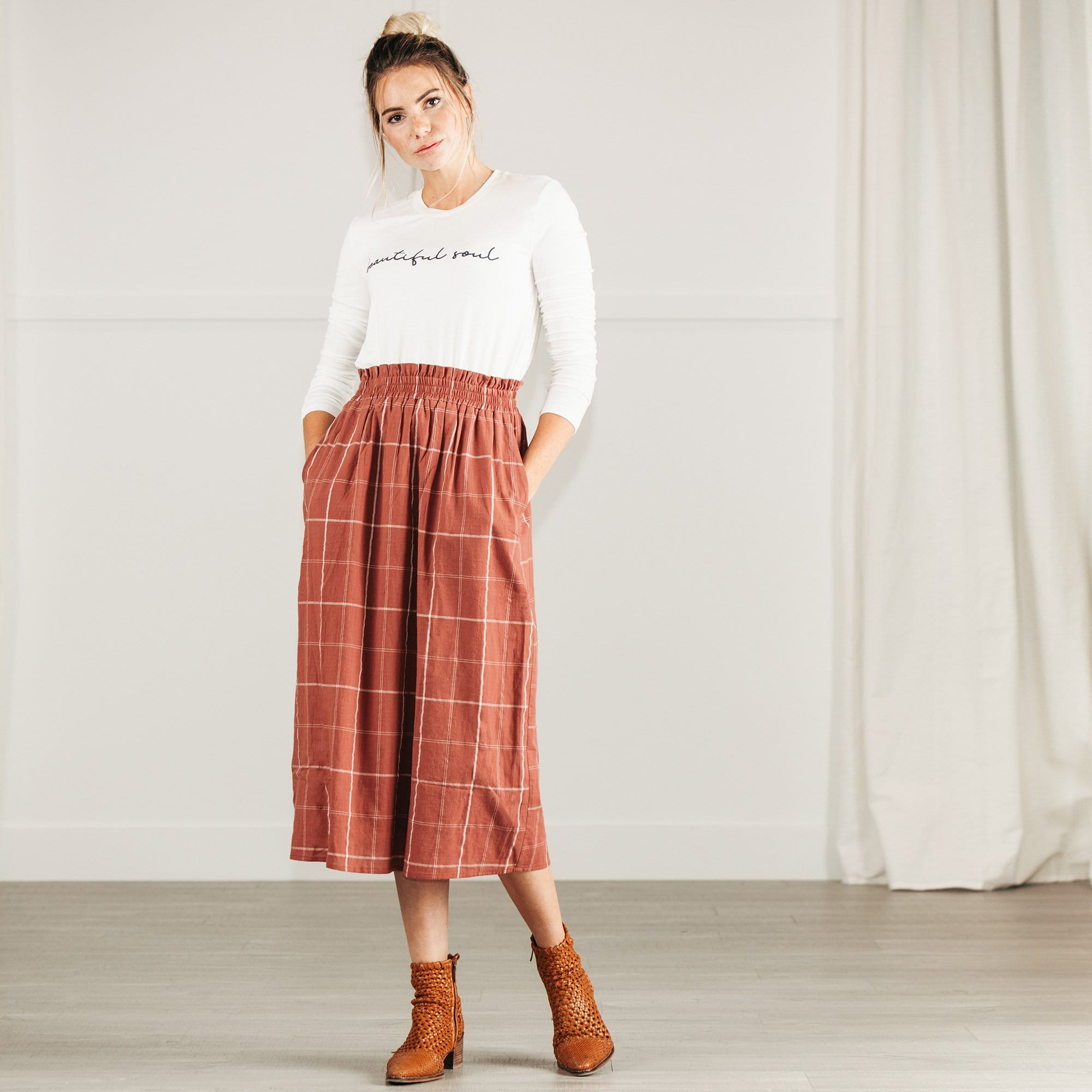 Plaid It Skirt