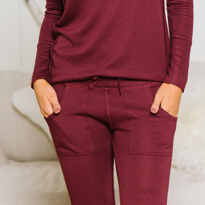 Patch Pocket Lounge Pant