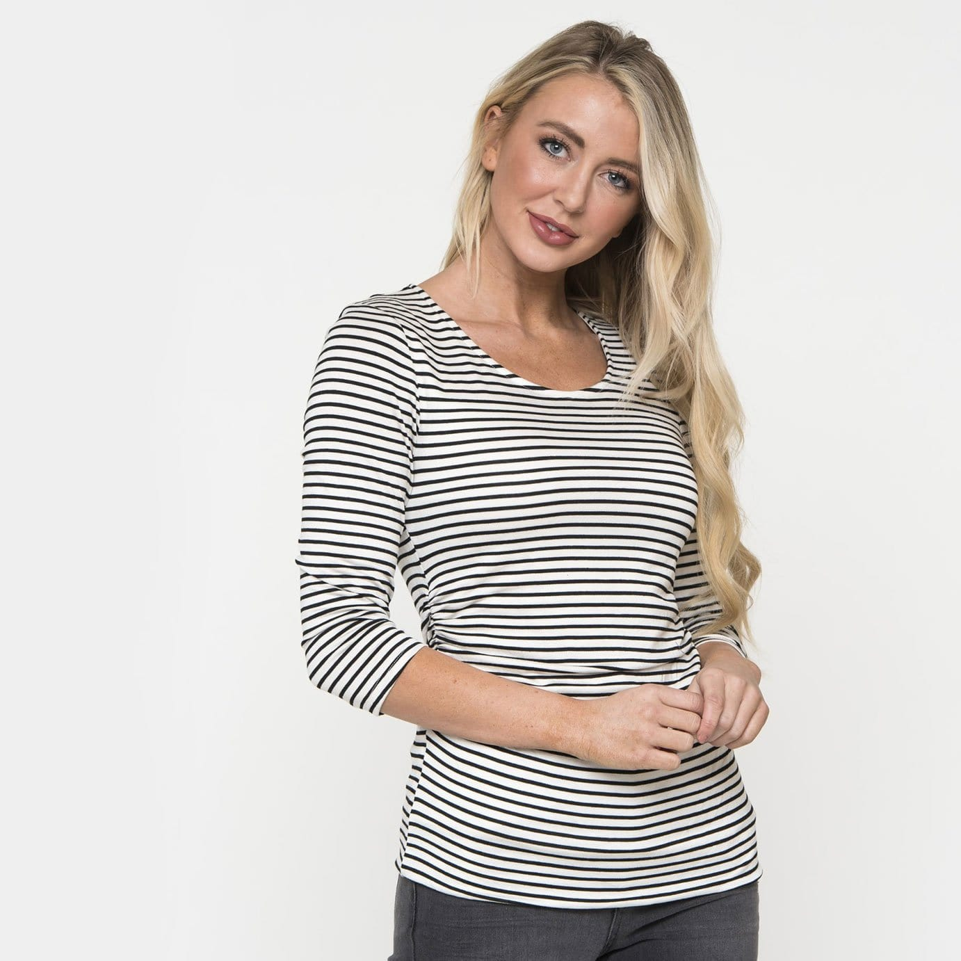 Sophisticated Stripe Top