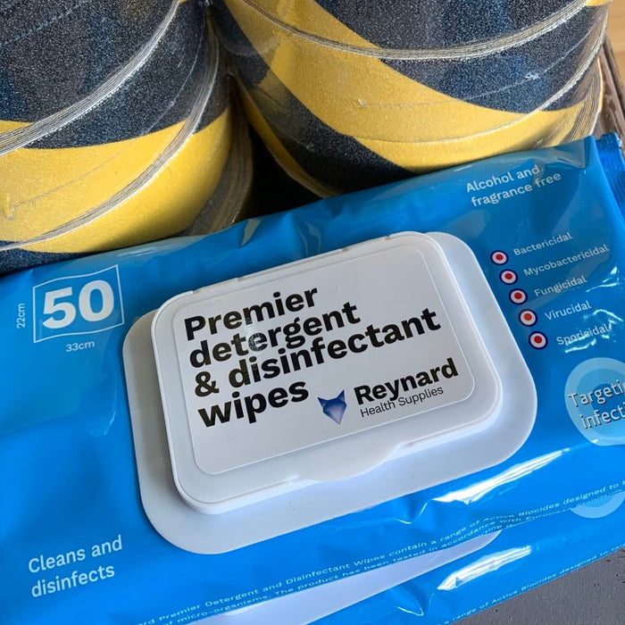 Disinfectant Wipes That Pick Up Dirt and Bacteria Rather Than Move It Around