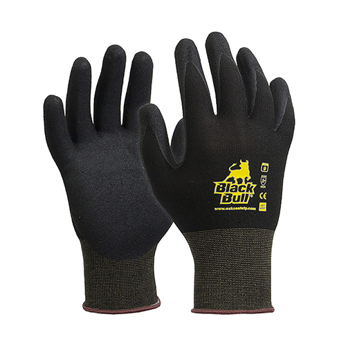 Esko | Black Bull Nitrile Gloves | Carton of 120 Pairs