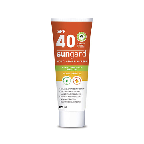 SunGard SPF 40 Sunscreen with Natural Insect Repellent | 125ml