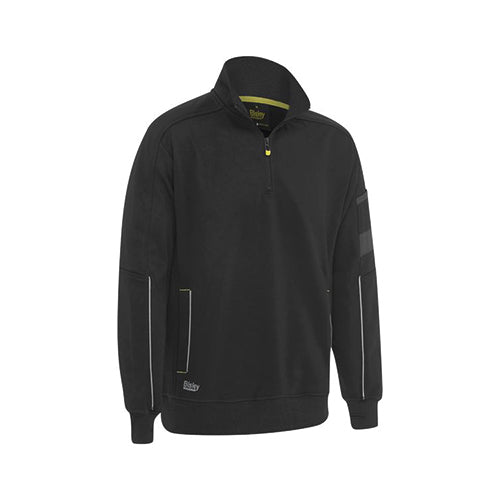 Bisley | 1/4 Zip Work Fleece Pullover | BK6924