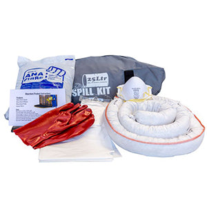 25L Oil Portable Spill Kit Bag & contents