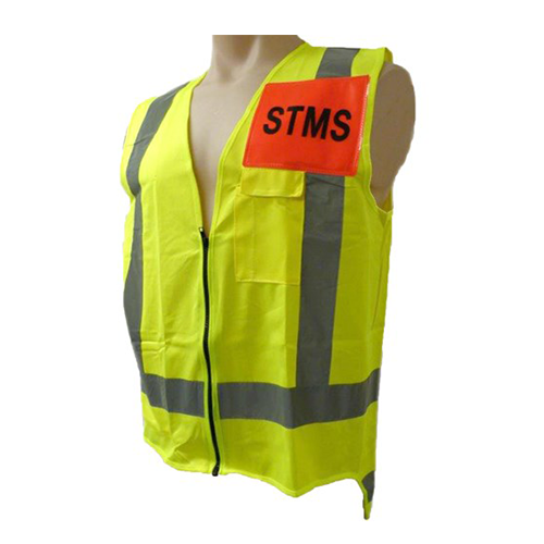 STMS Hi Vis Vest In Yellow | Ironwear